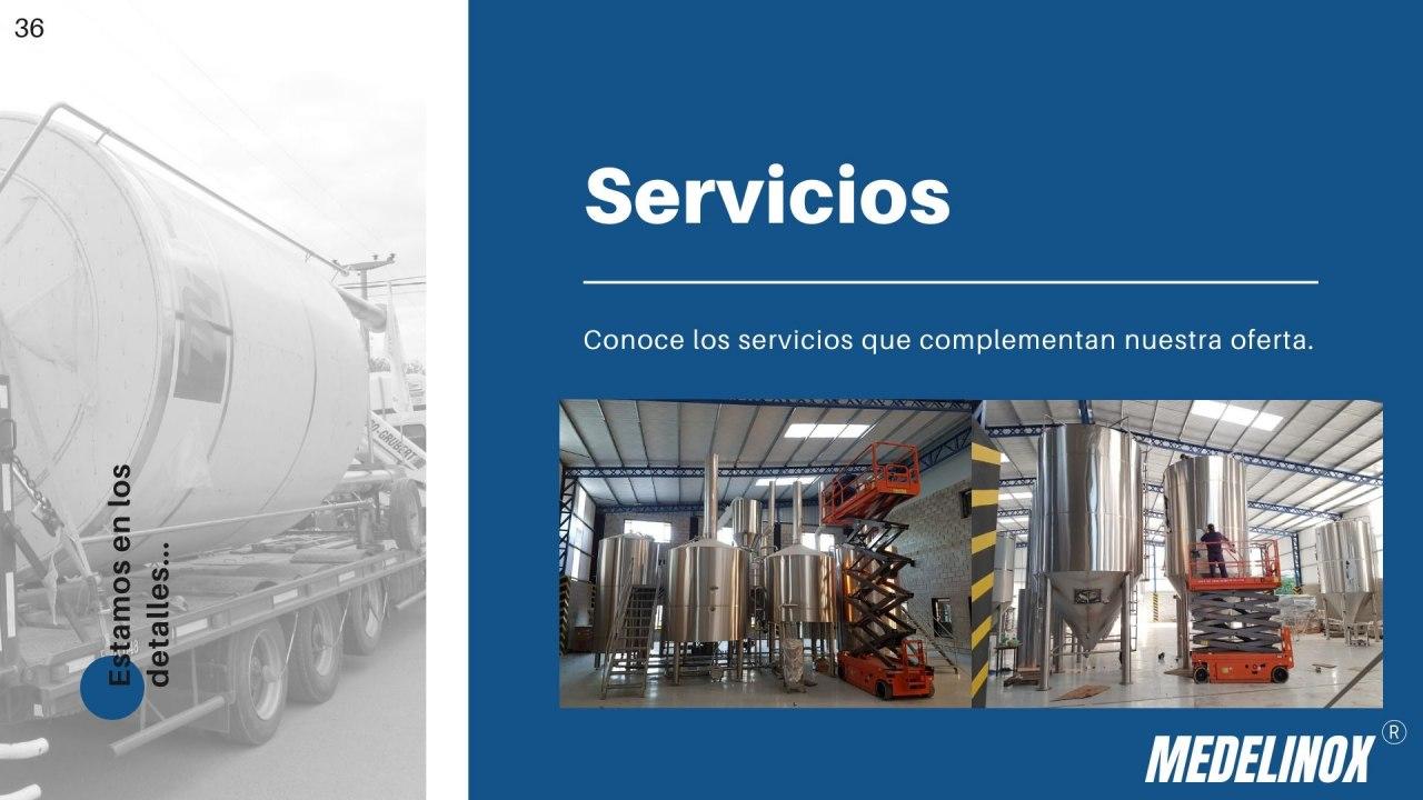 servicios complement